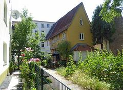 Der Zaun in Lübeck