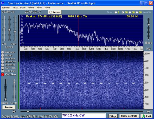7010 kHz dasher