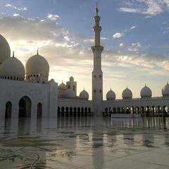ABU DHABI . Mosquée Sheikh ZAYED