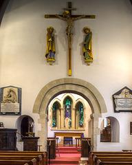 Great Amwell interior