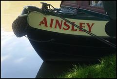 Ainsley narrowboat