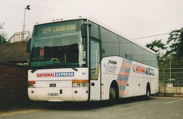 Selwyns YJ51 EKY at Whittlesford - 8 May 2003