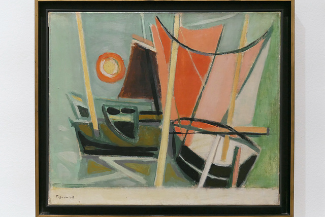 """Ostende"" (Edouard Pignon - 1949)"