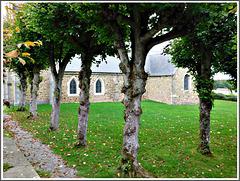 Eglise de Saint Hélen (22) en Bretagne avec PIP