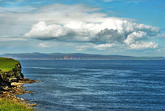 Cloud over Orkney