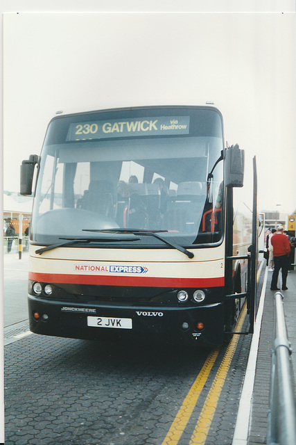 Stagecoach Busways 2 JVK at Heathrow - 26 Feb 2001