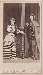 Josef Paleček and Wilhelmina Raab by Wesenberg