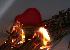 Das  Herz brennt