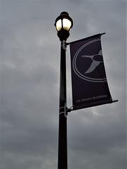Lampadaire ferroviaire / Railway lamppost
