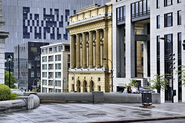 La Cour Municipale – Gosford Street viewed from Notre-Dame, Montréal, Québec