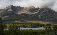 Ben Corr and Lough Inagh