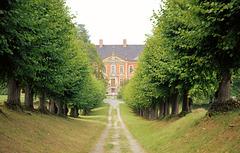 Lindenallee zum Schloss Bothmer / bei Klütz MV