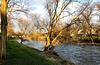DE - Bad Neuenahr - Die Ahr im warmen Licht des Nachmittags