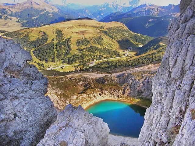 Laghetti di montagna - SPC 6/2017  3° place - Laghetto del Boè - Gruppo del Sella -