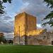 Portchester Castle - last light