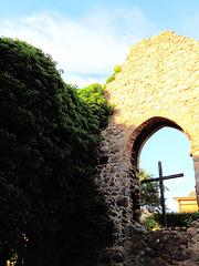 Kirchenruine Küssow