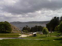Overview to Llandudno Bay.