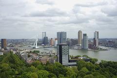 Rotterdam from Eurotower