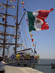 """Cuauhtemoc"" - Mexican tall ship (1982)."