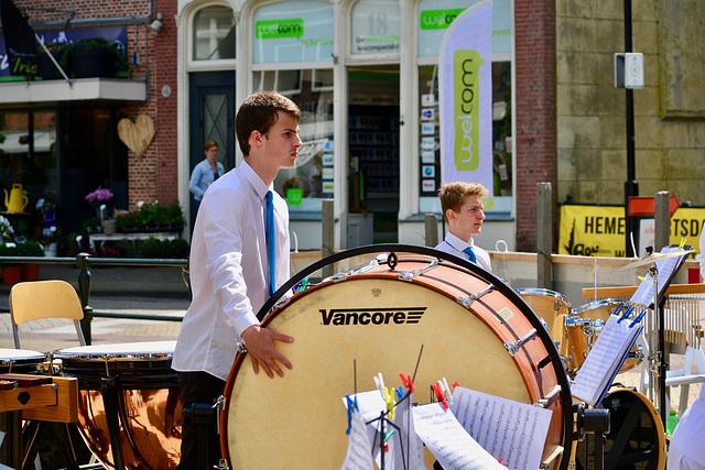 Bolsward 2018 – Big drum