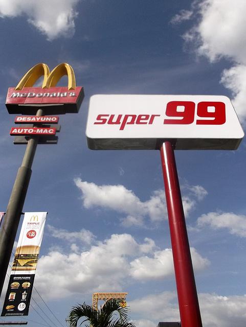 Super big M