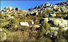 La Sierra de La Cabrera, western end.