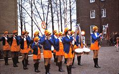 Environs de Eisleben (D) Nähe von Eisleben.// à l'époque RDA; damals DDR) Avril / April 1977. (Diapositve numérisée).