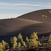 Ash hills in Sunset Volcanic Crater