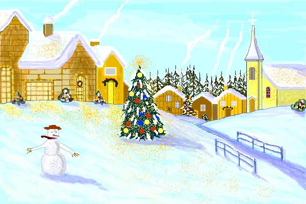 Paesaggio natalizio 2