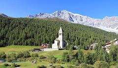Kirche St. Gertraud in Sulden
