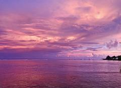 IMG 0410- Un petit lever de soleil au nord ouest
