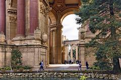 Ode on Grecian Urns – Palace of Fine Arts, Marina District, San Francisco, California