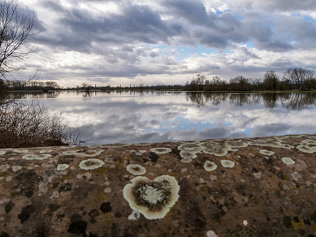 inondations au coeur de l'Alsace : Muttersholtz