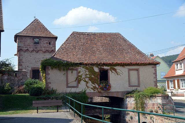 Hausgenossenturm in Wissambourg