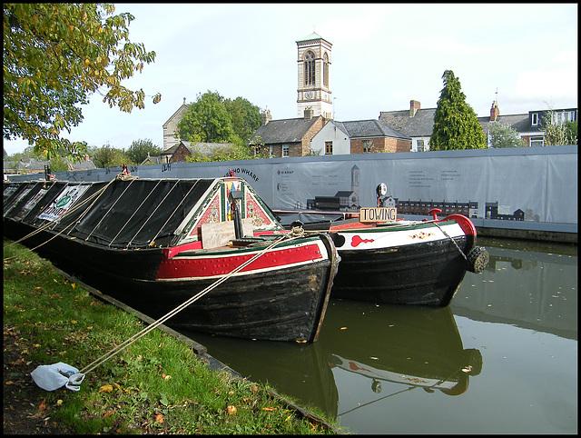 boats at Jericho Wharf