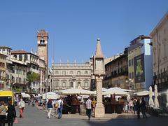 Historische Plätze in Verona