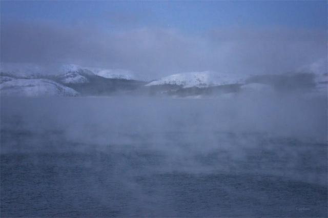 Winterliche Barentssee