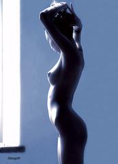 La beauté féminine . The beauty of women