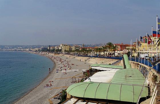 ...Nice,ma ville natale,avec la Promenade des Anglais...