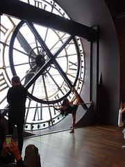 La danseuse à l'horloge