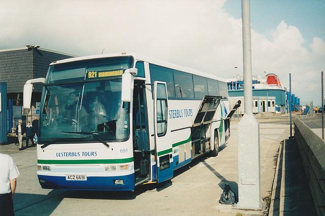 Ulsterbus ACZ 6691 at Stranraer - 6 May 2004