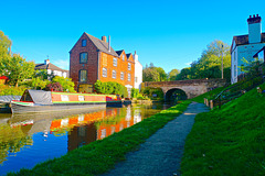 Coton Mill, Shropshire Union Canal