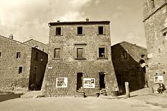Civita Bagnoregio, Latium, Italia (PiP)