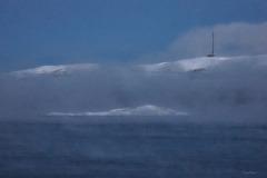 Polarmeer-Winter