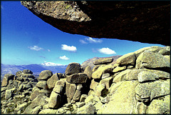 Granite. La Sierra de La Cabrera