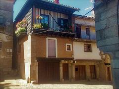 Possibly La Alberca, Salamanca Province.