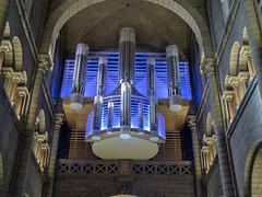 MONACO: Les orgues de la Cathédrale de Monaco.