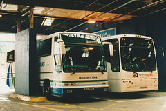 Ulsterbus ACZ 6692 and First WX53 WFA at Birmingham - 4 May 2004