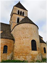 L'église de Saint Léon sur Vézère (24)
