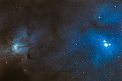 IC 4603 and Rho Ophiuchi